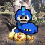 【MHW】次元を超えたオトモアイルーのロックマンコラボ!