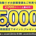 【結果発表】5,000円相当のTポイント目当てに危険な「リボ払い」に挑戦してみた時のお話